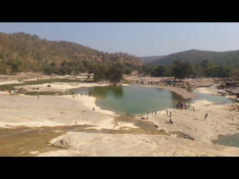 Kuntala water fall beauty of kuntala water falls