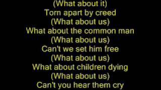 Michael Jackson - Earth song - lyrics