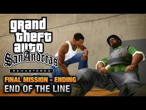 GTA San Andreas Remastered Ending Final Mission End Of The Line Xbox 360 PS3