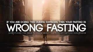 Your Fasting Will Be Wrong If You Do This