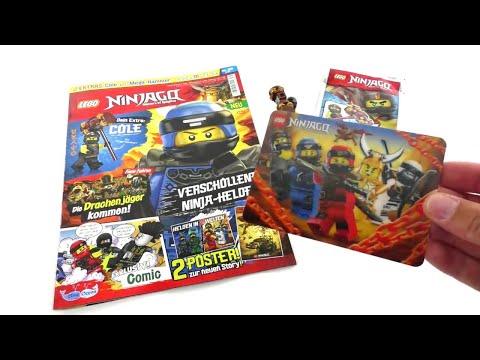 LEGO Ninjago Magazin Nr. 39 Juli 2018 Review deutsch