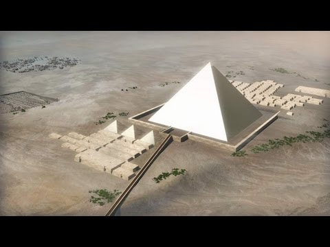 Building the Pyramids of Egypt a detailed step by step guide.