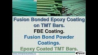 Fusion Bonded Epoxy Coating on TMT Bars. FBE Coating.