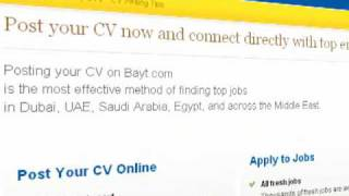 How To Build your CV | Resume on Bayt.com