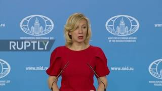 "Russia: ""Outraging"" – Zakharova slams US over downing of Syrian jet"