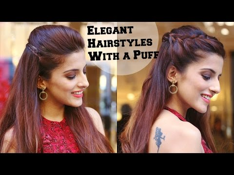 Xxx Mp4 2 Min ELEGANT Hairstyles With A Puff For A Cocktail Party Hairstyles For Indian Wedding Occasions 3gp Sex