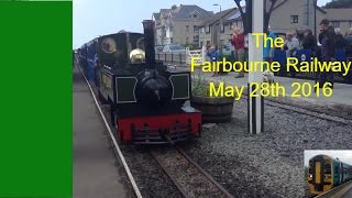 The Fairbourne Railway Little to Large gala 28/5/2016