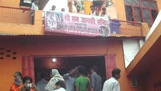 Bade Hanuman Ji Sangam Allahabad covered by Holy River Ganga Ji.