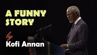 Kofi Annan (or) Morgan Freeman - A funny story