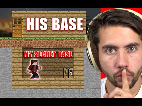 How Long Can I Live In Someone s Base Before They Notice Minecraft Home Invasion E1