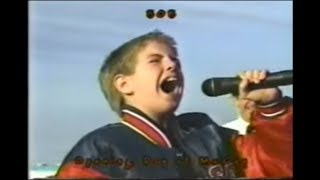 national anthem performed by billy gilman  kid