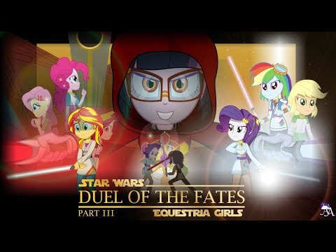 Xxx Mp4 Duel Of The Fates Part 3 1 MLP Equestria Girls X Star Wars Crossover Animation 3gp Sex