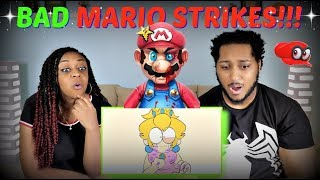 "AnimeToons ""Bad Mario"" REACTION!!!"