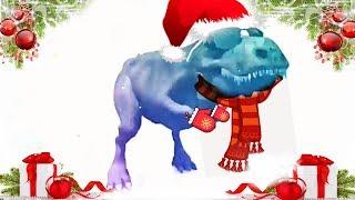 Este frio no se quita ni con un chocolate abuelita dinosaurio bailando