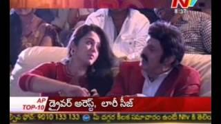 Nari Nari Naduma Murari-Charmi real Kiss to Balayya-Ultimate scene