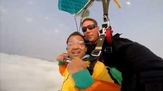 Abhijit Ashok Sky Diving- Swakopmund, Namibia