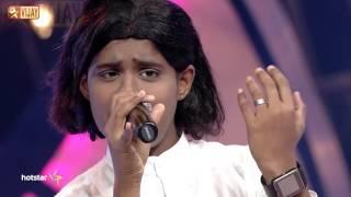 Super Singer Junior - Unnai Kaanadhu Naan by Harikaran