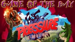 Game of the Day! - Pressure: GUNS MAKE RACING BETTER!