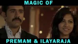 Emotional climax of Premam with Thalapathi BGM   Ilaiyaraaja