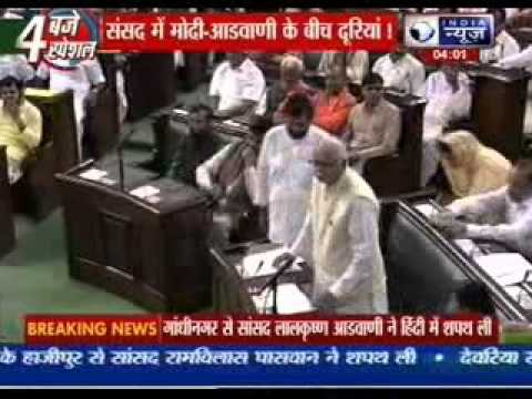 LK Advani not seated next to Prime Minister in Parliament