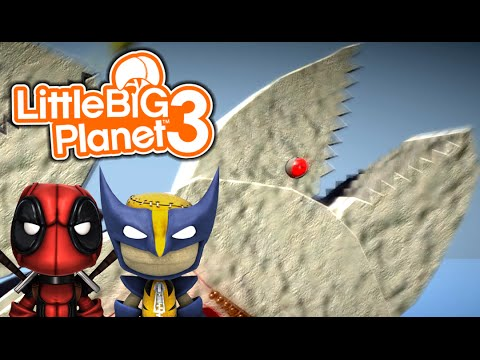 ANGRY WHALES! | Little Big Planet 3 Multiplayer (14)