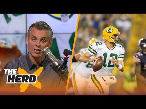 Colin Cowherd praises Aaron Rodgers after Green Bay s Week 4 win over Chicago THE HERD