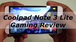Coolpad note 3 lite gaming review