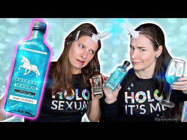 Testing RARE Unicorn Tears drink from across the world! | Sister Unicorn Party