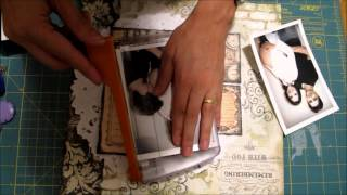 How to make a scrapbook page
