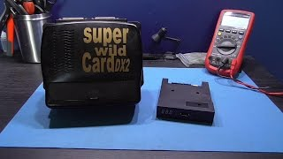 SNES - Super WildCard DX-2 - Part 2 - USB to Floppy Drive Emulator Install and Test.