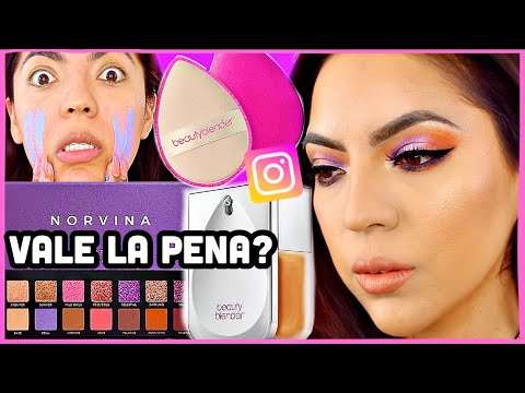 Xxx Mp4 PROBANDO MAQUILLAJE POPULAR DE INSTAGRAM Norvina BeautyBlender ♥BeautybyNena 3gp Sex