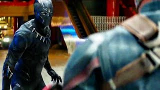 Captain America: Civil War - Movie Clip #6 - Black Panther Tunnel Chase HD