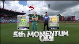 South Africa vs Sri Lanka - 5th ODI Highlights full match
