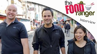 """EXCLUSIVE Interview with Trevor James (aka """"The Food Ranger"""") in western China!!"""