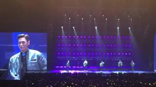 月亮代表我的心 Taeyoung, Seungri dance with GD, TOP talk Bigbang made tour in Macau 20151025