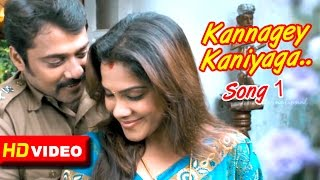 The Hit List Malayalam Movie | Malayalam Movie | Kannagey Kaniyaga Song | 1080P HD