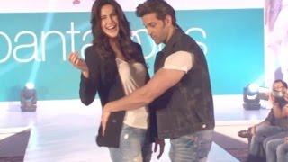 Katrina & Hrithik Performs His MJ Dance On Ramp Walk