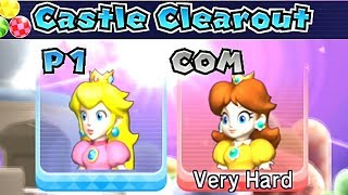 Mario Party 9 Castle Clearout ◆ Peach vs Daisy Very Hard Difficulty #22