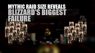 Mythic raid size and uncovering one of WoW's biggest failures.