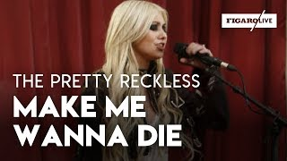 The Pretty Reckless ( Taylor Momsen ) - Make Me Wanna Die - Le Live