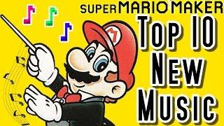 Super Mario Maker TOP 10 New MUSIC LEVELS - Mario Kart, Final Fantasy & More (Wii U)