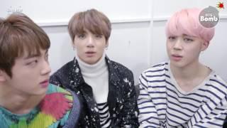 [ENG SUB] [BANGTAN BOMB] BTS '봄날' Won @ Music bank (feat. 봄날 New dance by Jin)