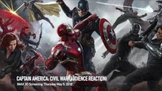 Captain America: Civil War (Audience Reactions) Audio Only