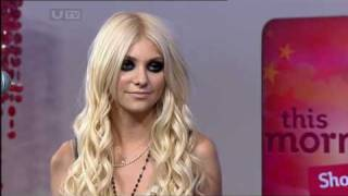 The Pretty Reckless - Miss Nothing (This Morning - 20th Aug, 10)