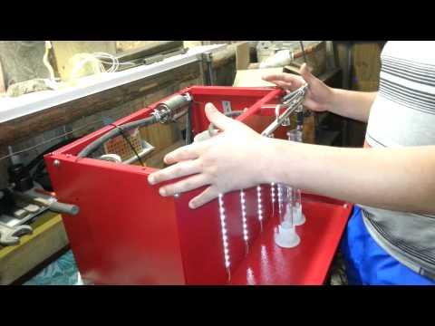 Стенд для чистки инжектора своими руками видео