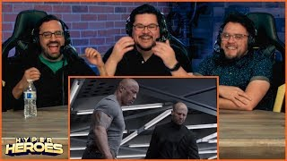 Fast & Furious Presents: Hobbs & Shaw - Official Trailer Reaction