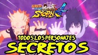 Guia Como Desbloquear todos Los Personajes Secretos Naruto Shippuden Ultimate Ninja Storm 4