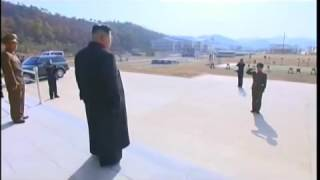 Kim Jong Un watches Strong Army Training