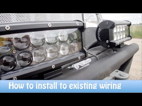 How To Install Aftermarket Lights to Existing Wiring