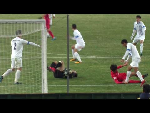 Uzbekistan vs Korea Republic (AFC U23 Championship 2018: Semi-finals)